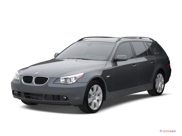Image 2007 Bmw 5 Series 4 Door Sport Wagon 530xit Awd Angular Front Exterior View Size 640 X