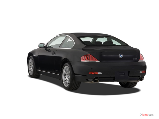 Image 2007 Bmw 6 Series 2 Door Coupe 650i Angular Rear