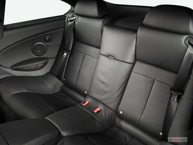 Image 2007 Bmw 6 Series 2 Door Coupe M6 Rear Seats Size