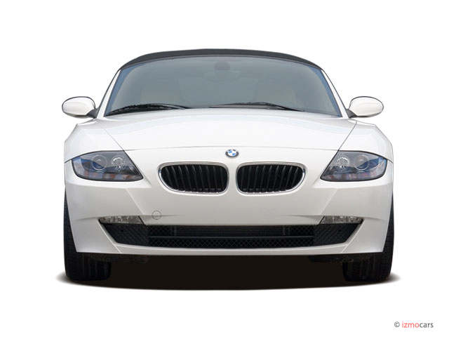 Image 2007 Bmw Z4 Series 2 Door Roadster 3 0i Front Exterior View Size 640 X 480 Type Gif