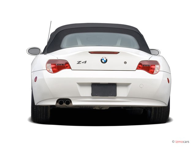 Image 2007 Bmw Z4 Series 2 Door Roadster 3 0i Rear