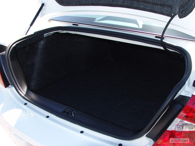Image 2007 Buick Lacrosse 4 Door Sedan Cxs Trunk Size