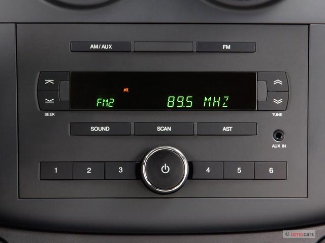Image: 2007 Chevrolet Aveo 4-door Sedan LS Audio System ...