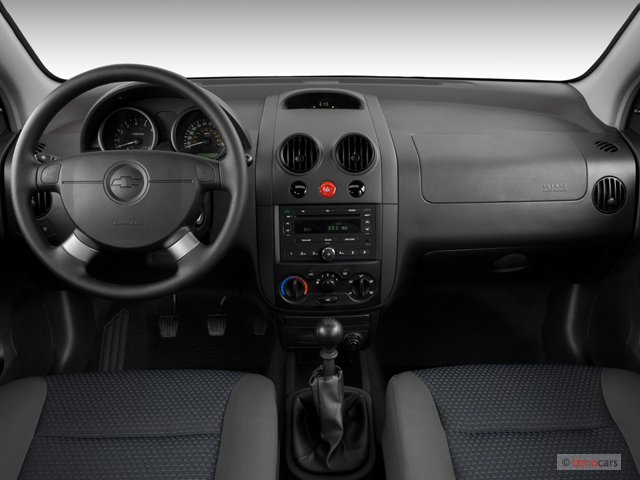 Image: 2007 Chevrolet Aveo 5dr Wagon LS Dashboard, size ...