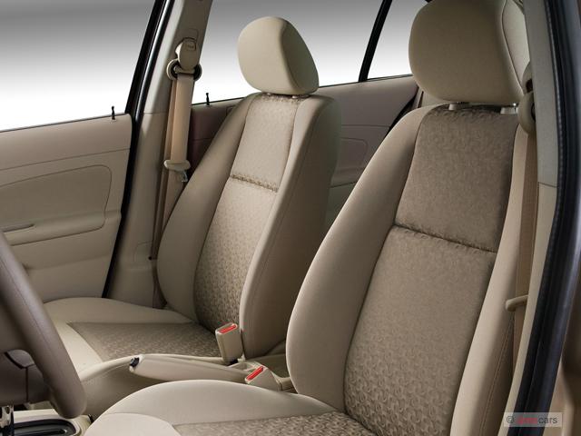 Image 2007 chevrolet cobalt 4 door sedan ls front seats for 05 chevy cobalt 4 door