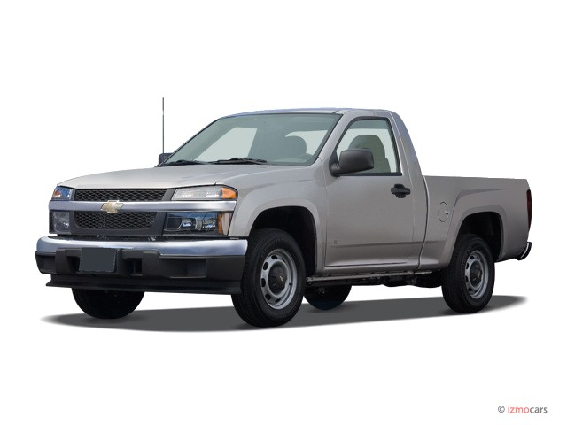 "Family Trucks And Vans Colorado >> Image: 2007 Chevrolet Colorado 2WD Reg Cab 111.2"" LS Angular Front Exterior View, size: 640 x ..."