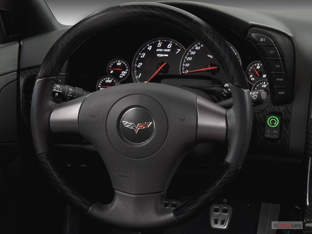 Image: 2007 Chevrolet Corvette 2-door Coupe Z06 Steering ...