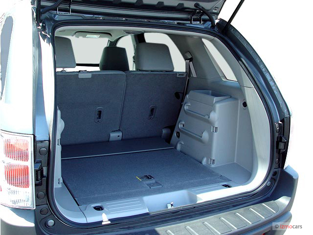 Image: 2007 Chevrolet Equinox 2WD 4-door LS Trunk, size ...