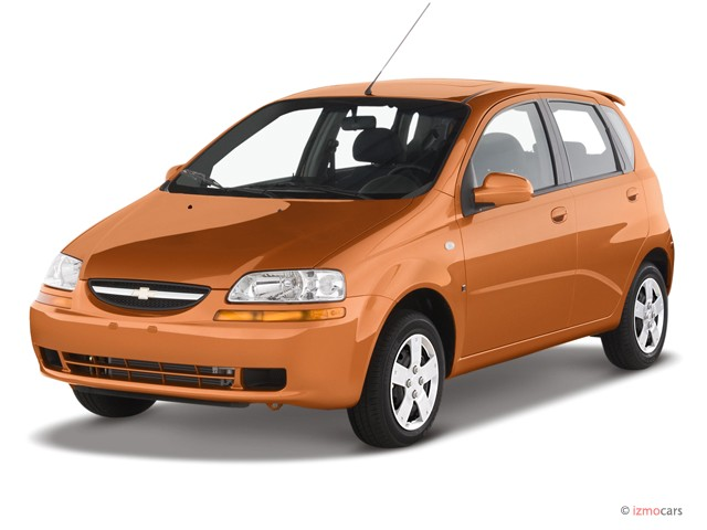 2007 Chevrolet Aveo 5dr Wagon LS Angular Front Exterior View