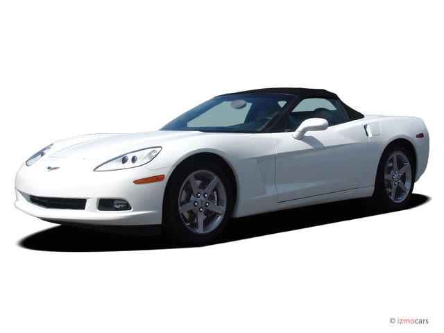 2007 Chevrolet Corvette 2-door Convertible Angular Front Exterior View