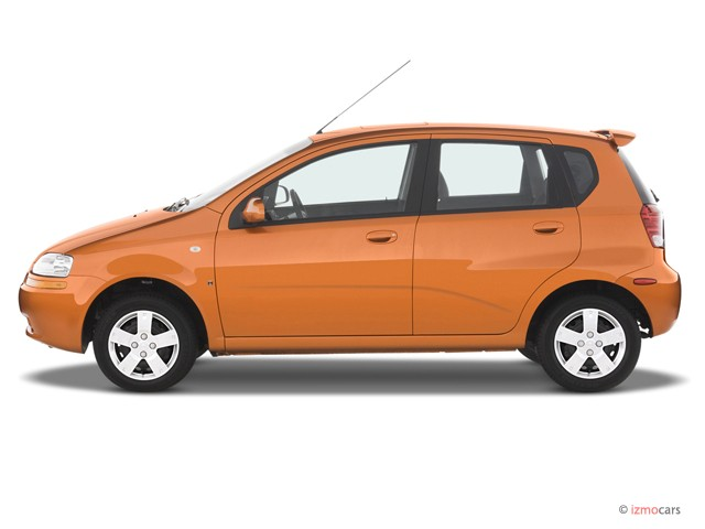 Image: 2007 Chevrolet Aveo 5dr Wagon LS Side Exterior View ...