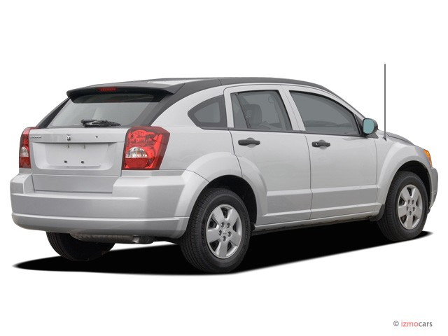 2007 Dodge Caliber 4-door HB FWD Angular Rear Exterior View