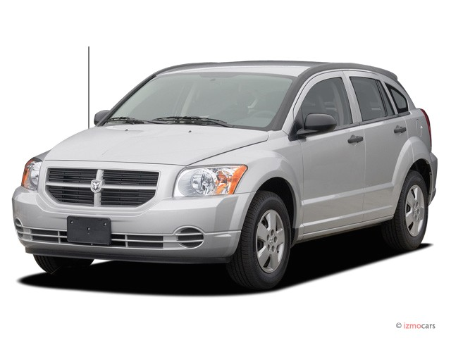 2007 Dodge Caliber 4-door HB FWD Angular Front Exterior View