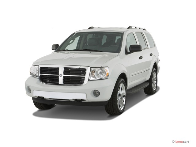 2007 Dodge Durango 4WD 4-door Limited Angular Front Exterior View