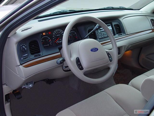 Ford Crown Victoria  Door Sedan Standard Dashboard