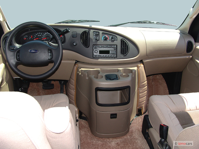 Image 2007 Ford Econoline Cargo Van E 150 Commercial Dashboard Size 640 X 480 Type Gif