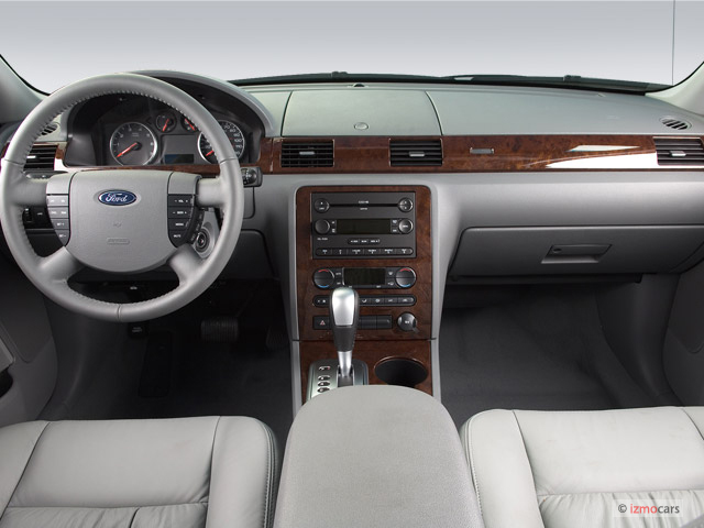image 2007 ford five hundred 4 door sedan sel fwd dashboard size 640 x 480 type gif posted. Black Bedroom Furniture Sets. Home Design Ideas