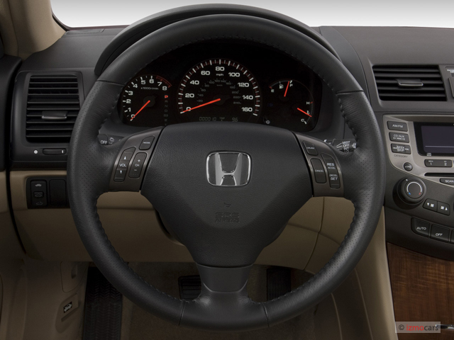 Image: 2007 Honda Accord Coupe 2-door I4 AT EXL Steering ...