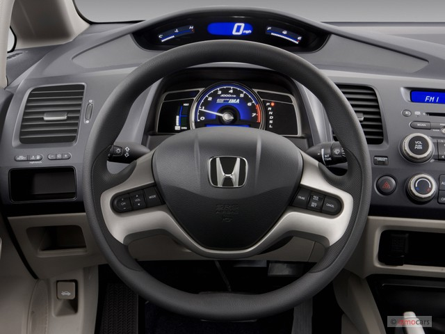 image 2007 honda civic hybrid 4 door sedan steering wheel size 640 x 480 type gif posted. Black Bedroom Furniture Sets. Home Design Ideas