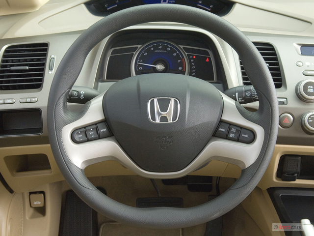 Honda Pilot Gas Mileage >> Image: 2007 Honda Civic Sedan 4-door AT EX Steering Wheel, size: 640 x 480, type: gif, posted on ...