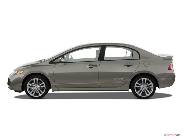 Side Exterior View - 2007 Honda Civic Si 4-door Sedan Manual w/ST