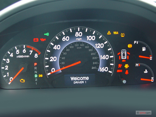 image  honda odyssey  door wagon touring wres instrument cluster size    type
