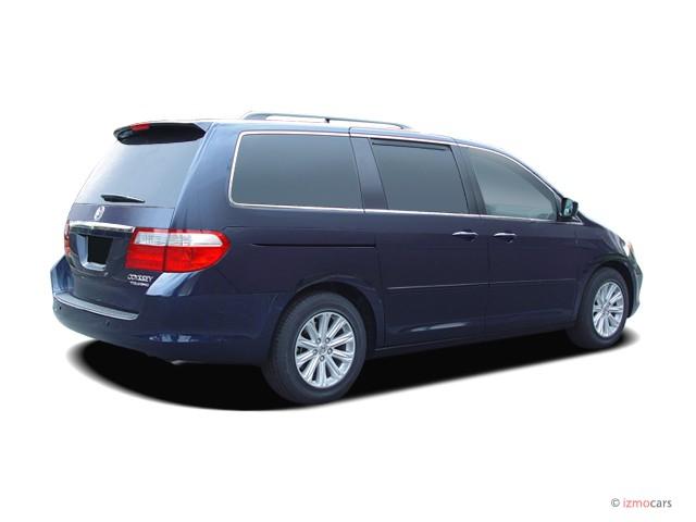 Image: 2007 Honda Odyssey 4-door Wagon Touring w/RES Angular Rear Exterior View, size: 640 x 480 ...