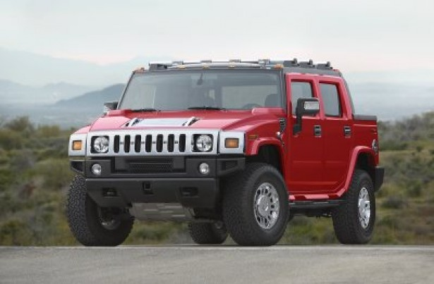 2007 HUMMER H2 Victory Red Edition