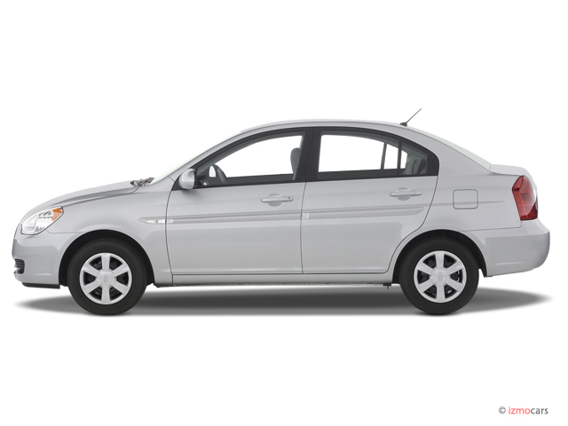 Image 2007 Hyundai Accent 4 Door Sedan Auto Gls Side