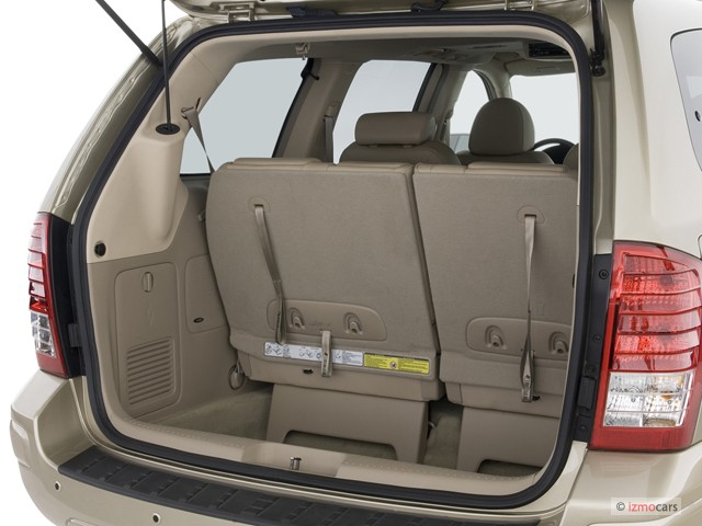 2007 Hyundai Entourage 4-door Wagon Limited Trunk
