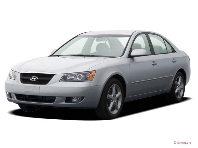 2007 Hyundai Sonata 4-door Sedan Auto GLS w/XM Angular Front Exterior View