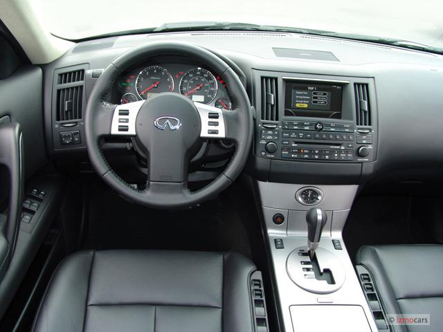 Image: 2007 Infiniti FX45 4-door AWD Dashboard, size: 640 ...