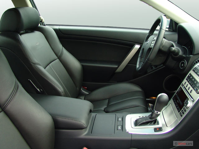Front Seats   2007 Infiniti G35 Coupe 2 Door Auto