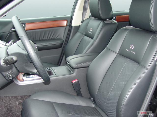 Image: 2007 Infiniti M35 4-door Sedan RWD Front Seats ...