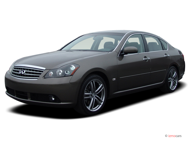 2007 Infiniti M45 4-door Sedan Angular Front Exterior View