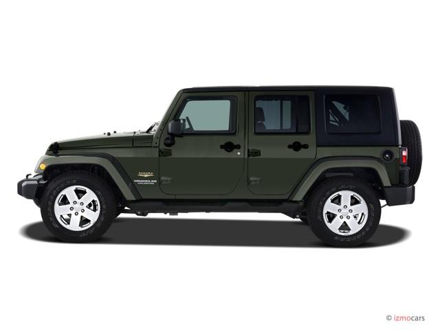 image 2007 jeep wrangler 2wd 4 door unlimited sahara side. Black Bedroom Furniture Sets. Home Design Ideas