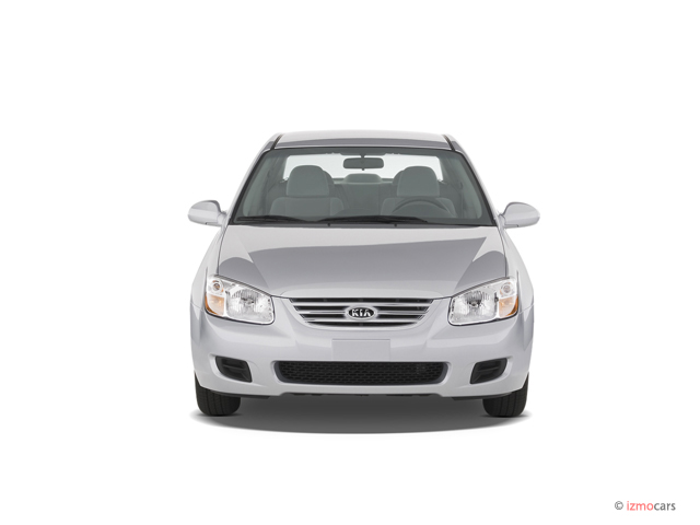 2007 Kia Spectra 4-door Sedan Auto EX Front Exterior View