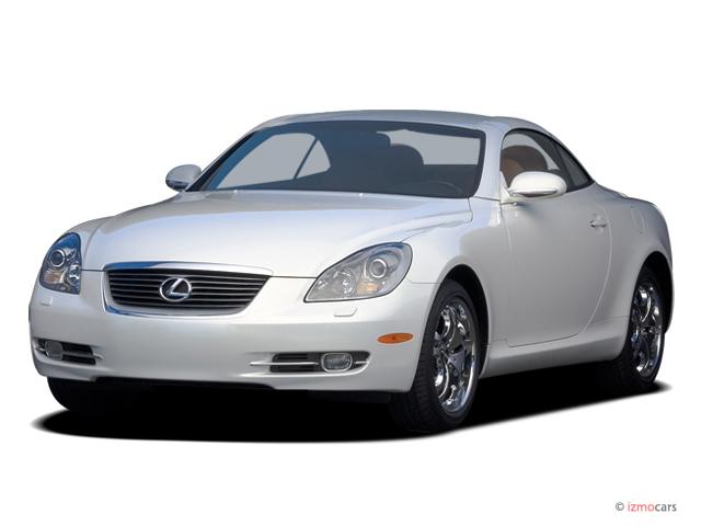 Image: 2007 Lexus SC 430 2-door Convertible Angular Front Exterior