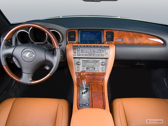 Image 2007 Lexus Sc 430 2 Door Convertible Dashboard