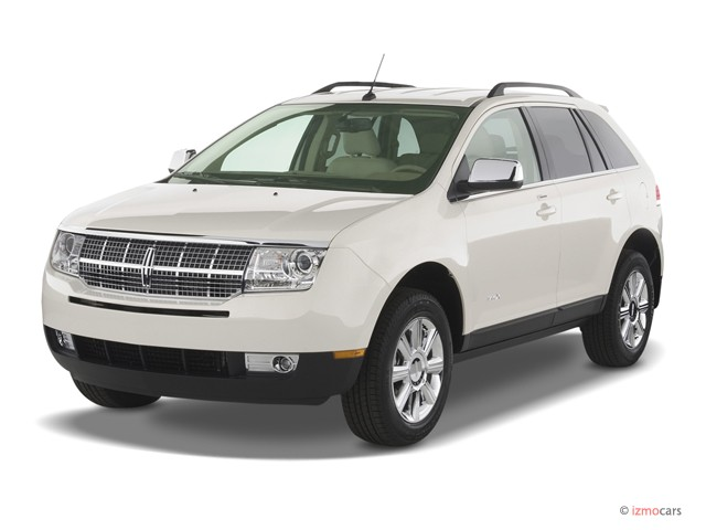 2007 Lincoln MKX AWD 4-door Angular Front Exterior View