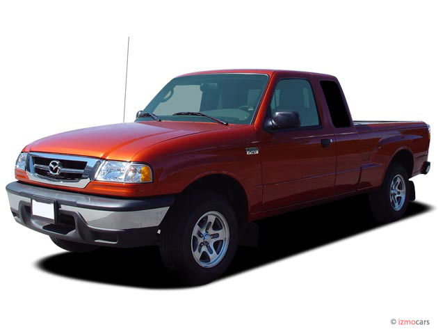2007 Mazda B-Series 2WD Truck Cab Plus4 V6 Manual Angular Front Exterior View