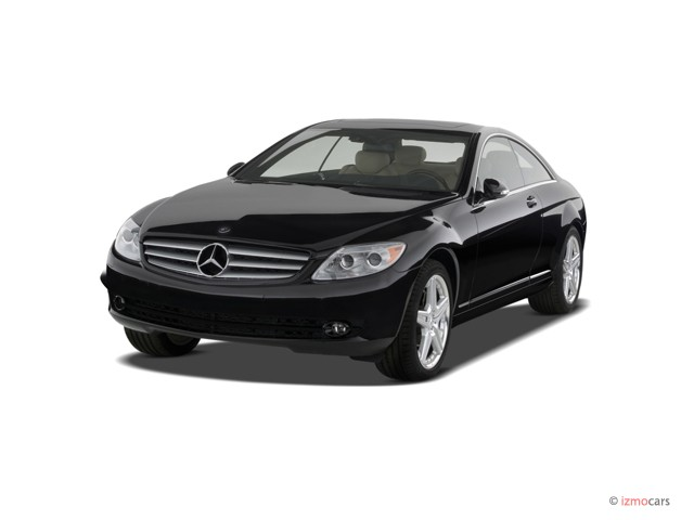 2007 Mercedes-Benz CL Class 2-door Coupe 5.5L V8 Angular Front Exterior View