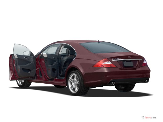 Image 2007 mercedes benz cls class 4 door sedan 5 5l open for 2007 mercedes benz cls class