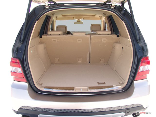 Image 2007 mercedes benz m class 4wd 4 door 3 5l trunk for 2007 mercedes benz m class