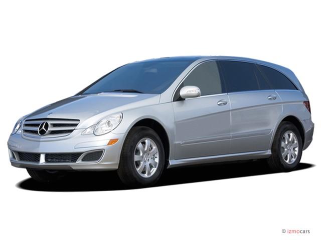 2007 Mercedes-Benz R Class 4WD 4-door 3.5L Angular Front Exterior View