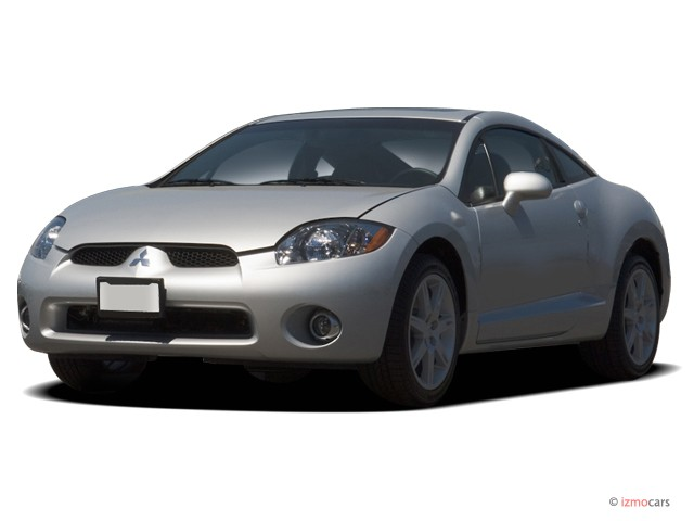 2007 Mitsubishi Eclipse 3dr Coupe Sportronic Auto GT Angular Front Exterior View