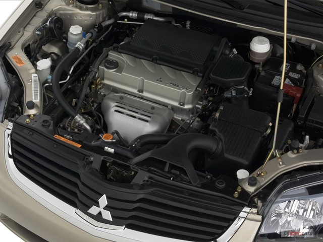 Image: 2007 Mitsubishi Galant 4-door Sedan I4 ES Engine ...