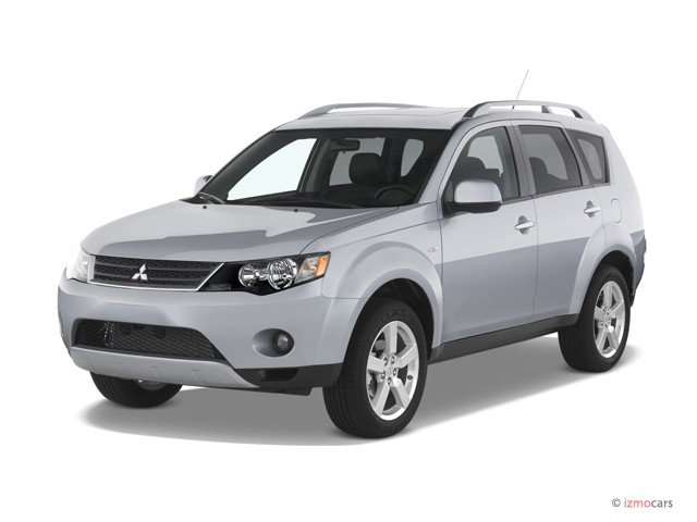 2007 mitsubishi outlander review ratings specs prices. Black Bedroom Furniture Sets. Home Design Ideas