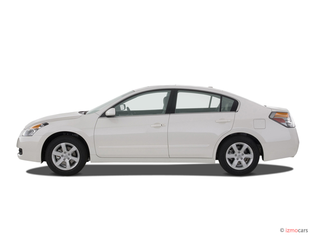 Image: 2007 Nissan Altima 4-door Sedan I4 CVT 2.5S Side ...