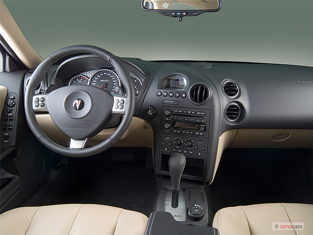 Image 2007 Pontiac Grand Prix 4 Door Sedan Gxp Dashboard